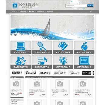 1 column eBay Store Design