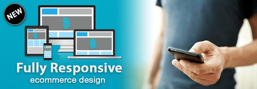Responsive Bigcommerce ecommerce Design