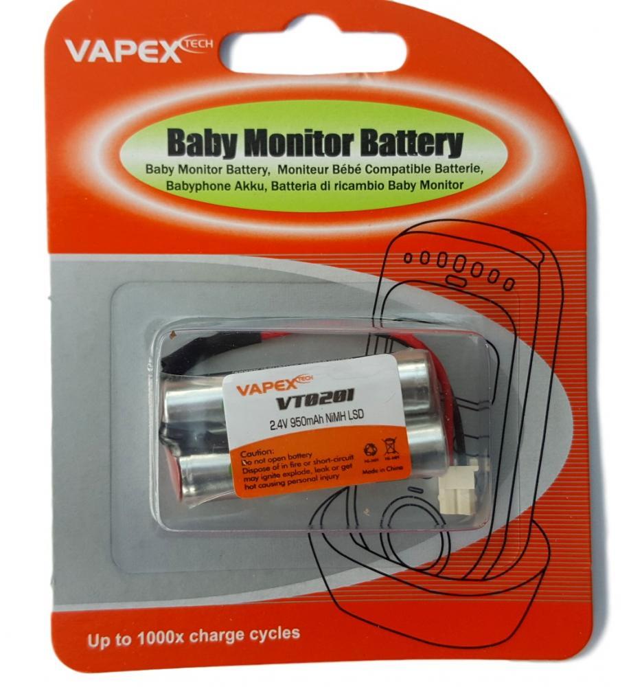 motorola mbp20 baby monitor rechargeable battery pack 2 4v 950mah nimh ebay. Black Bedroom Furniture Sets. Home Design Ideas