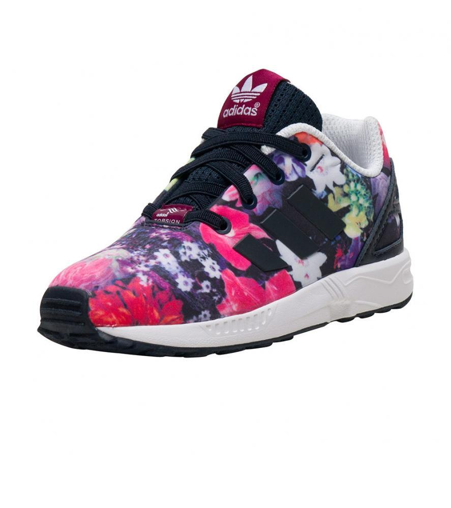 adida zx flux girls trainners
