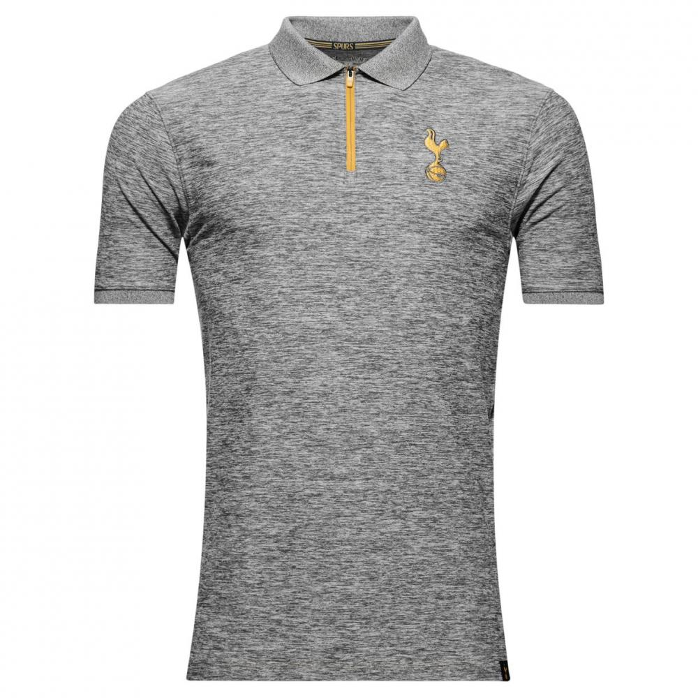 Tottenham hotspur spurs under armour mens grey fitted for Under armour tottenham polo shirt