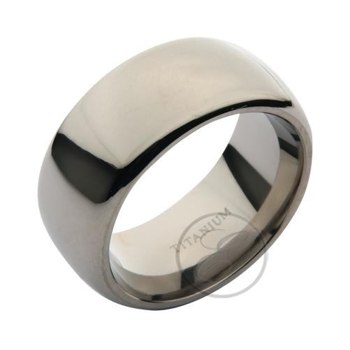 Titanium Flat Court Rings His /& Hers High Polished Wedding Bands4/&6mm RIngs