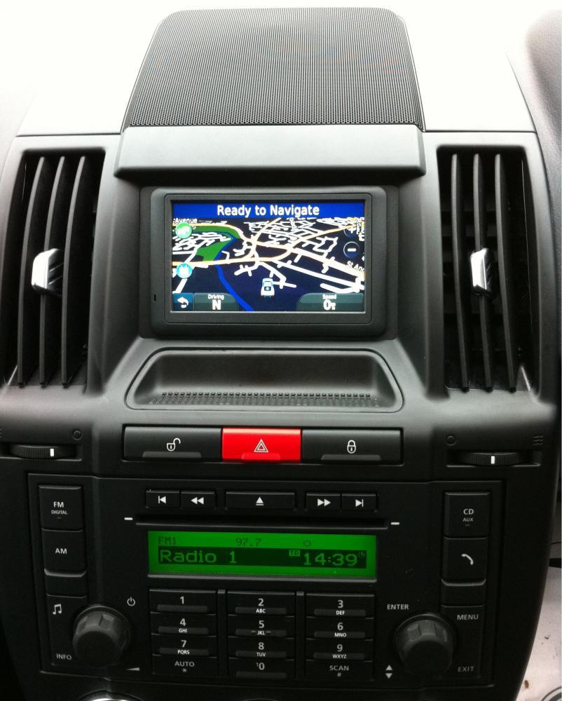 Land Rover Freelander2 Garmin Touchscreen Sat Nav Retrofit
