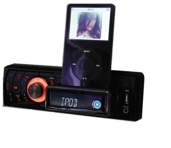 Sub-Zero Car Radio Stereo IPod IPhone Dock Play Charge