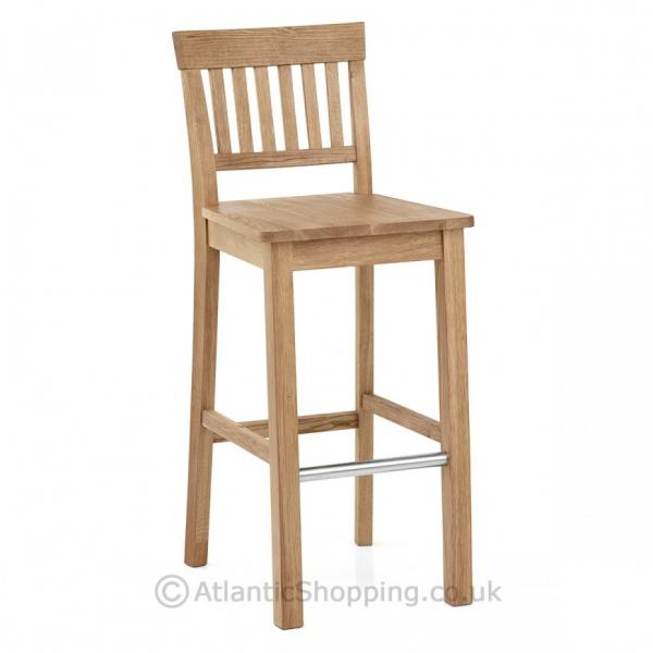 Clearance coniston oak kitchen bar stools 5 colours for Bar stools clearance