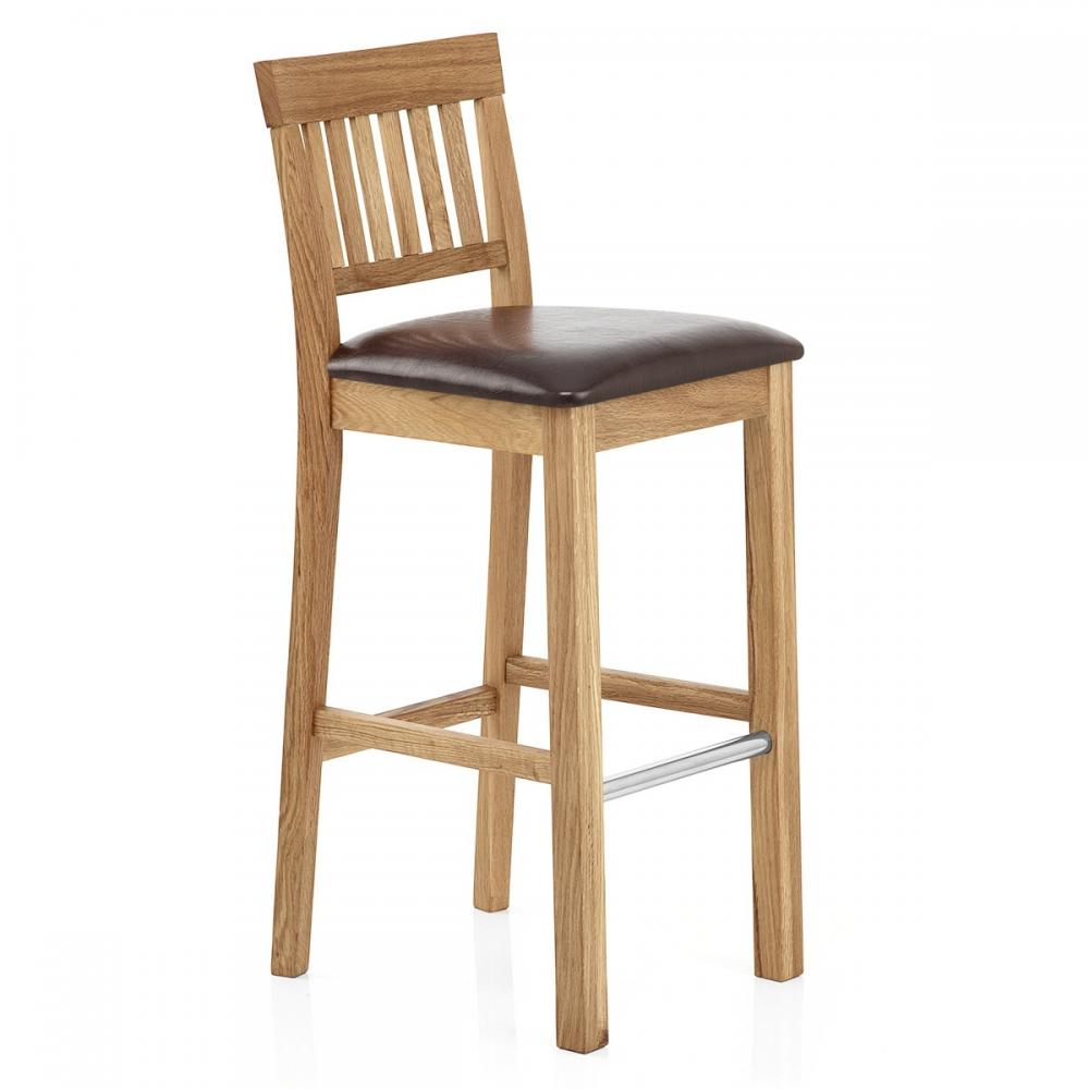 Clearance Coniston Oak Kitchen Bar Stools 5 Colours