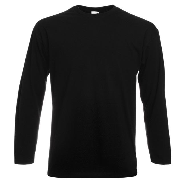 5 Pack Fruit Of The Loom Men 39 S Long Sleeve Cotton Crew