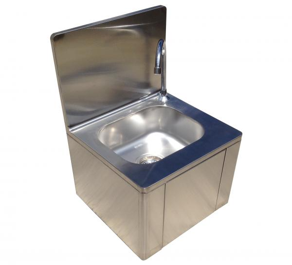 Squid 174 Catering Hand Wash Sink Knee Operated Stainless