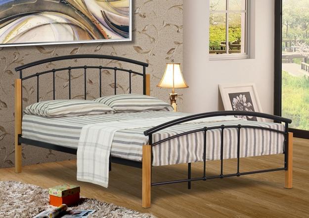 Modern Metal Bed Frames 3ft, 4ft, 4ft6 double or 5ft king size modern metal bed frame with