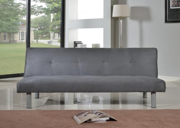 Canterbury Fabric Sofa Bed 3 Seater - Click-Clack Sofa in 4 Colours