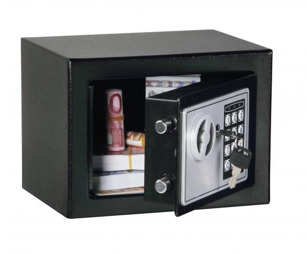 New Small Black Digital Electronic Safe Box Keypad Lock Home Office Hotel Gun 17