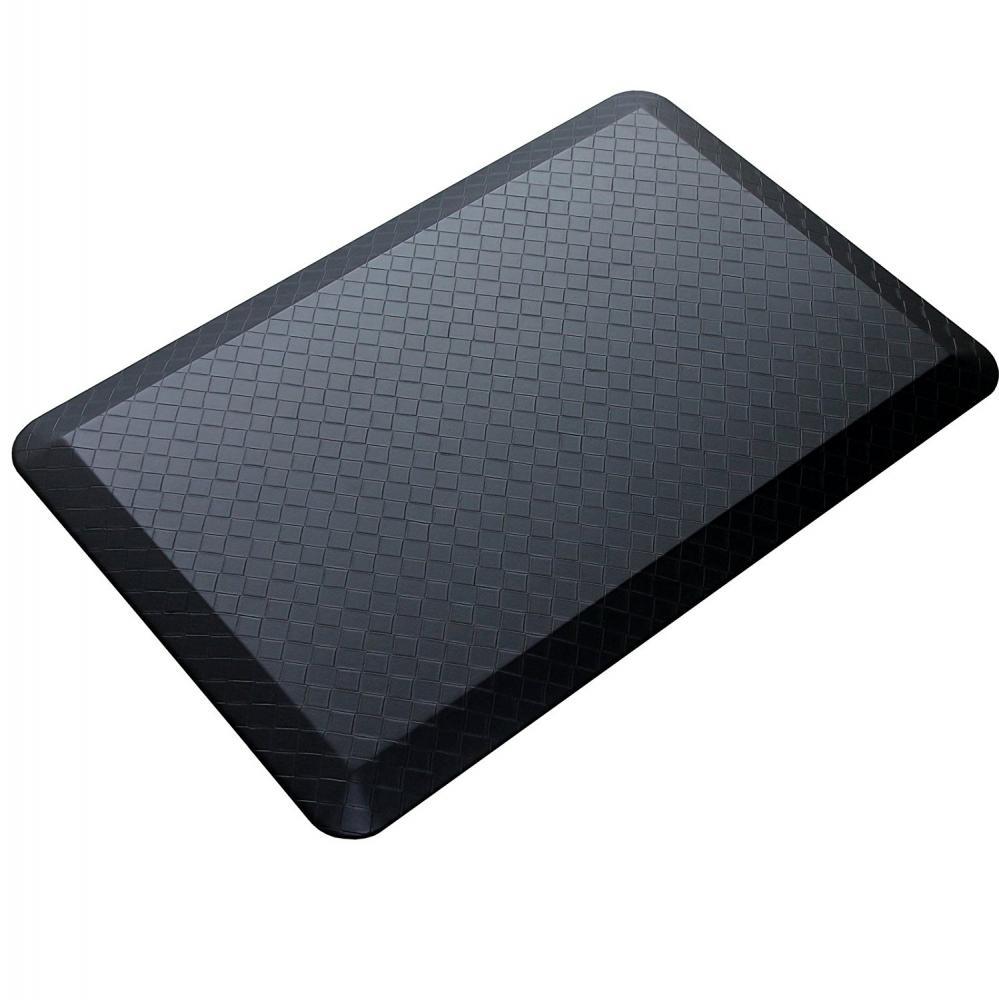black modern indoor cushion kitchen rug anti fatigue floor mat ebay