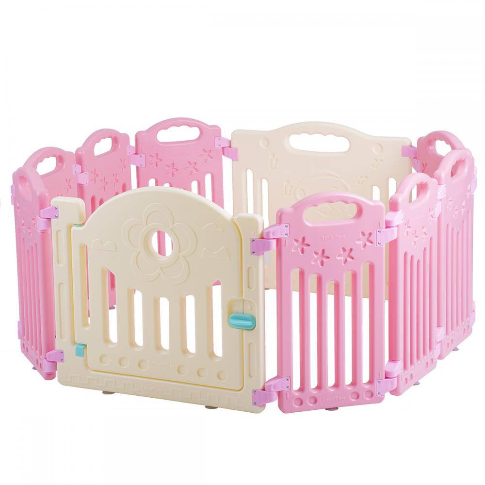 10 Panel Baby Playpen Kids Safety Play Center Yard Home