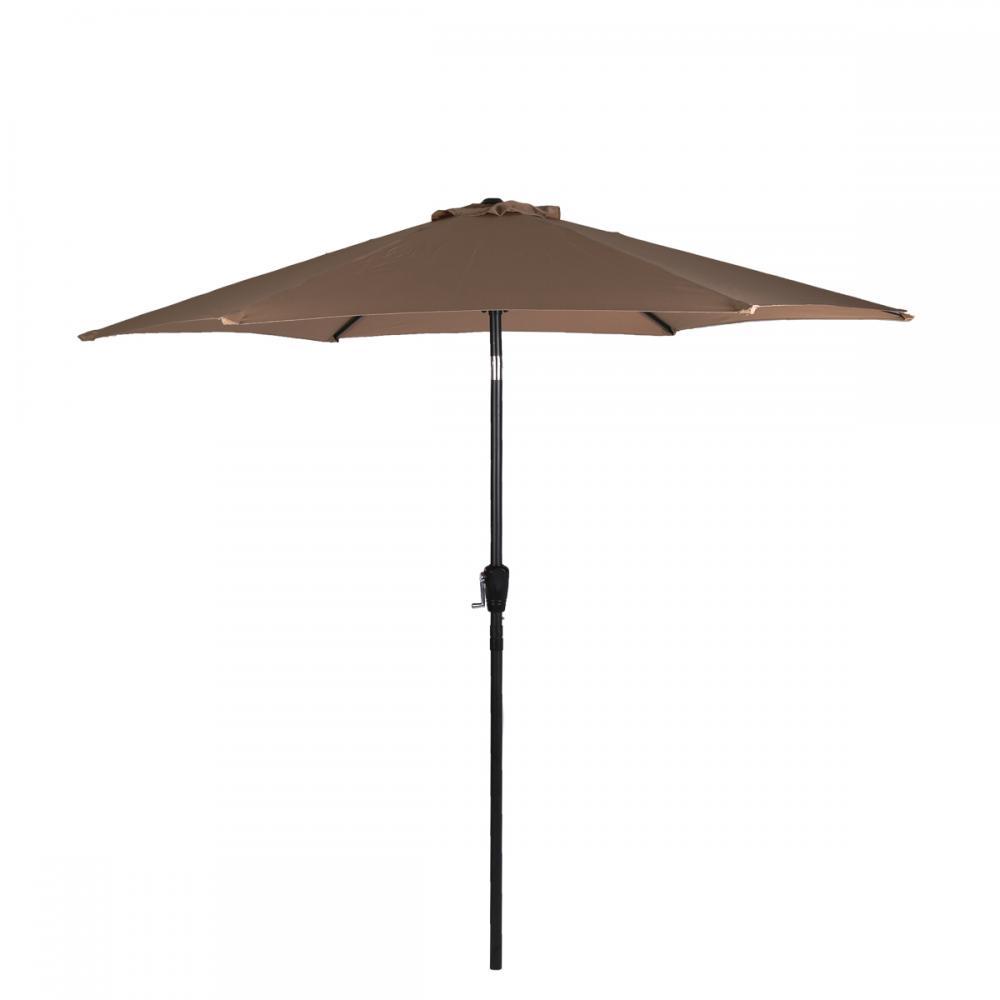New patio umbrella 9 39 aluminum patio market umbrella tilt for Outdoor patio umbrellas