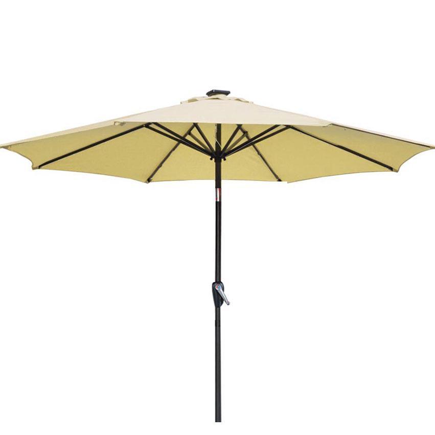 New Patio Umbrella 9' Aluminum Patio Market Umbrella Tilt