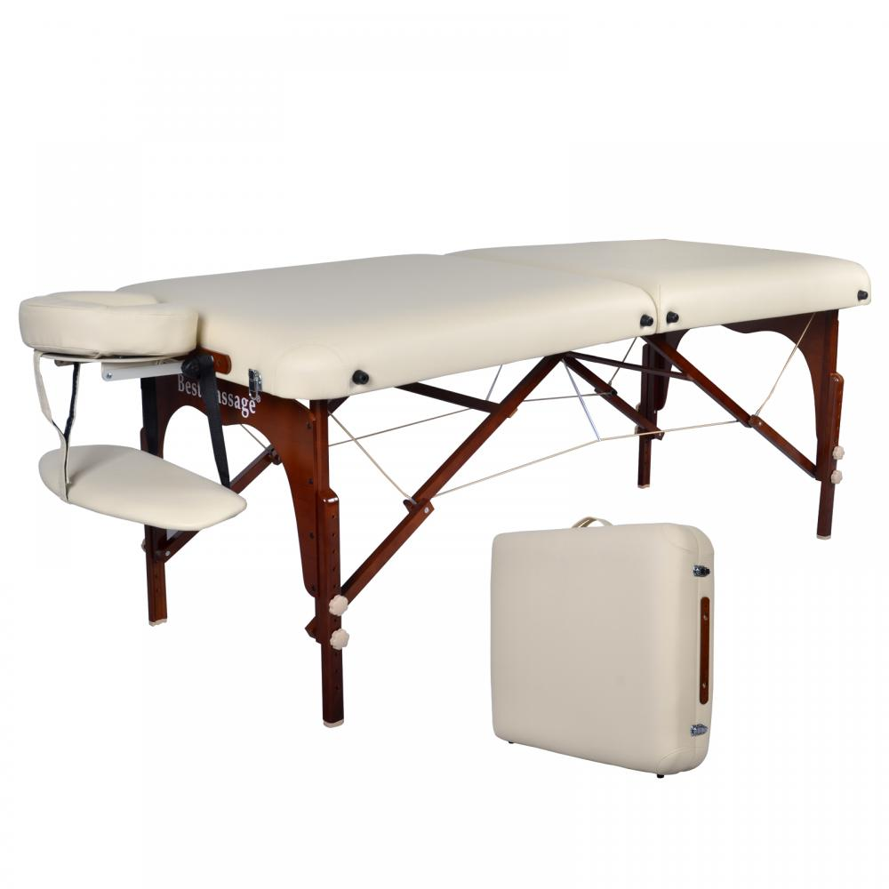Bestmassage 30 professional portable massage table with memory foam layer m7 - Massage table professional ...