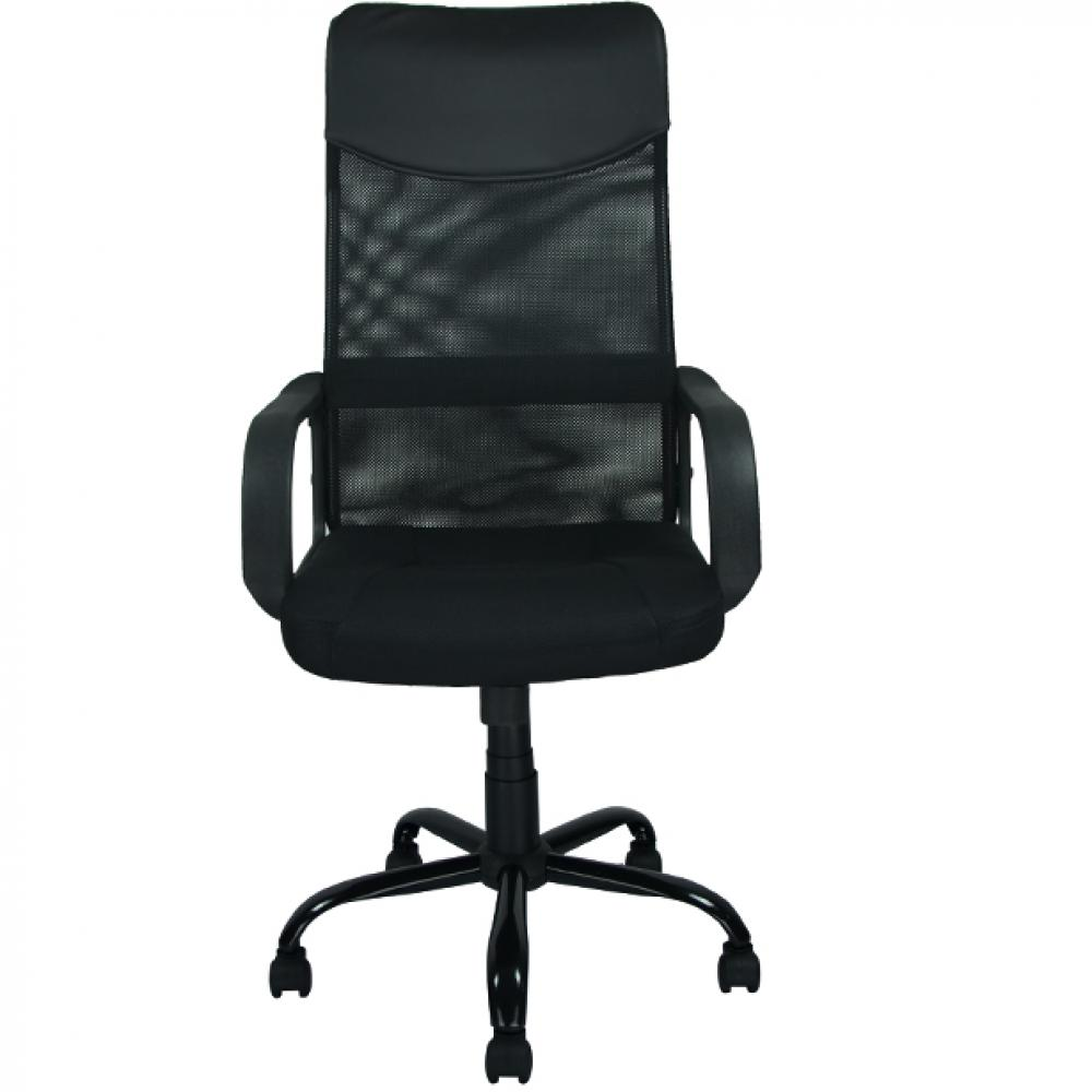 High back fabric office chair - New Black Modern Fabric Mesh High Back Office Task Chair Computer Desk Seat O25