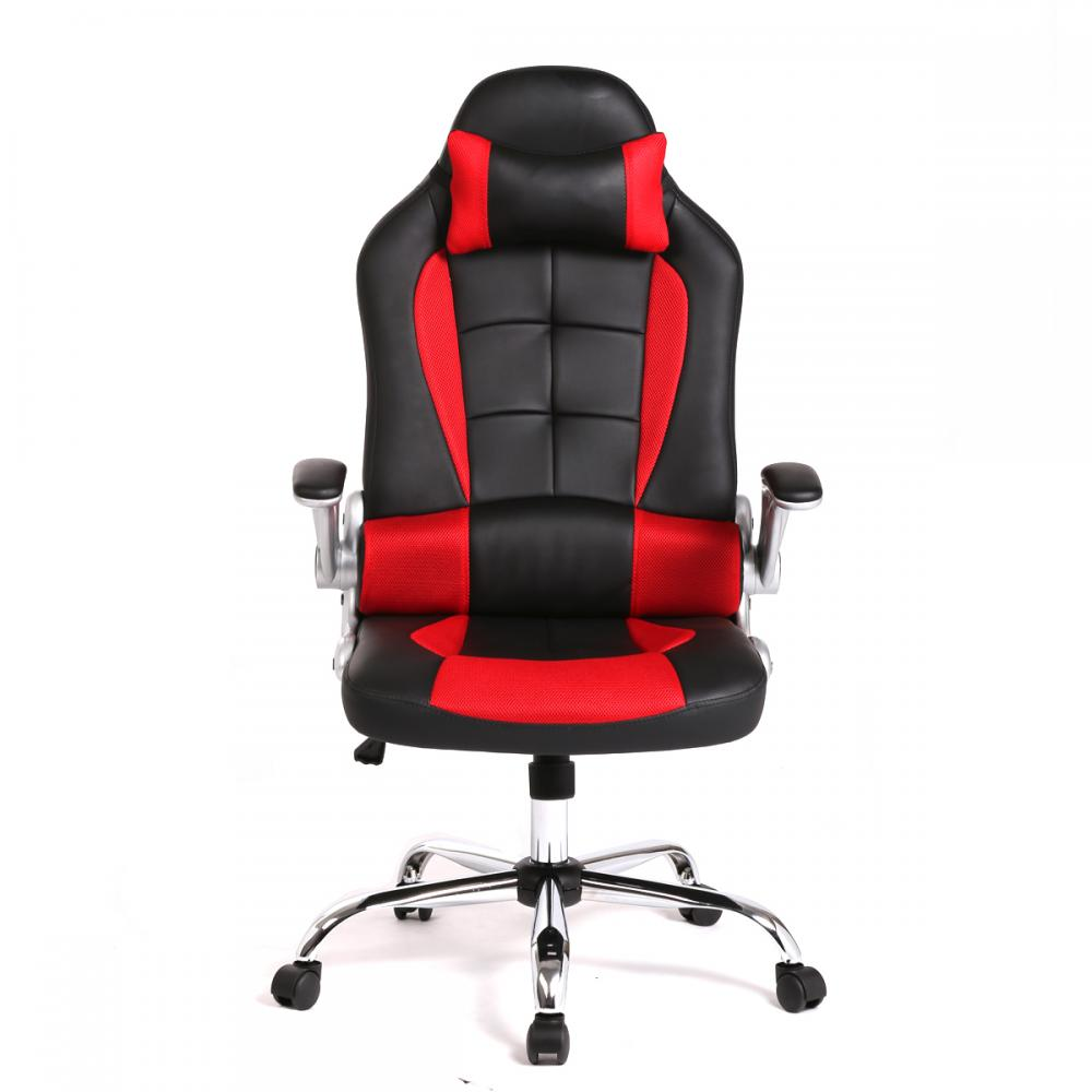 new high back race car style bucket seat office desk chair gaming chair c55 ebay. Black Bedroom Furniture Sets. Home Design Ideas