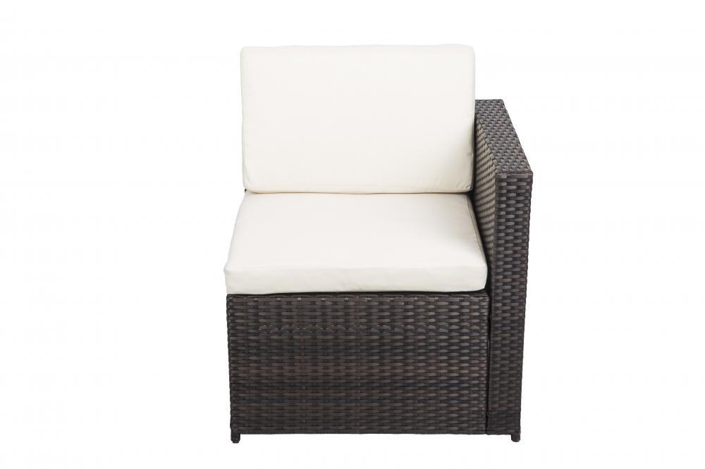 7 Pcs Outdoor Patio Sofa Set Sectional Furniture Pe Wicker