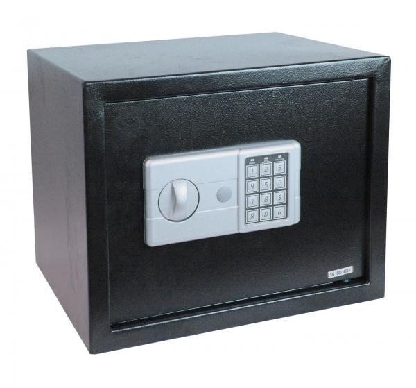 black 3 size digital electronic safe box keypad lock security home office hot. Black Bedroom Furniture Sets. Home Design Ideas