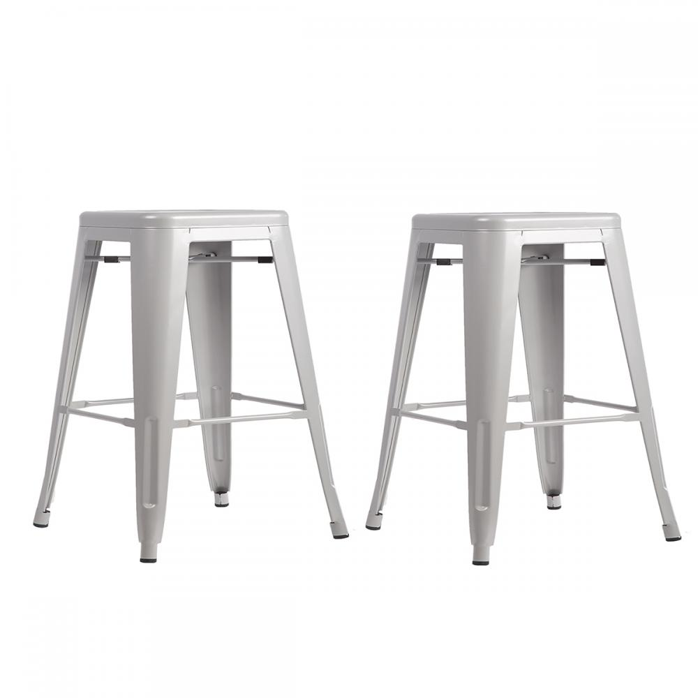 New Set Of Metal Frame Tolix Style Bar Stool Industrial Chair : TBS 2402 silver28329 from www.ebay.com size 1000 x 1000 jpeg 40kB