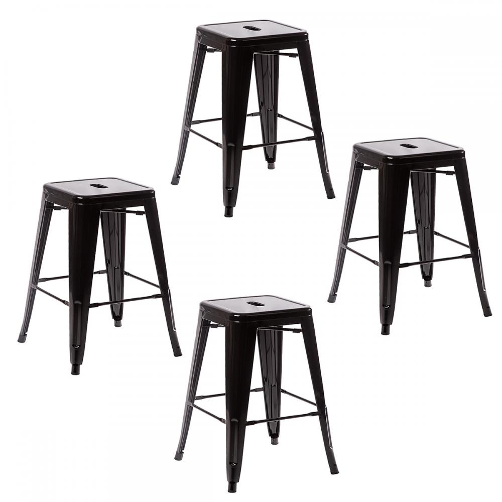Metal Frame Tolix Style Bar Stool Industrial Chair eBay : TBS 424 black28129 from www.ebay.com size 1000 x 1000 jpeg 64kB