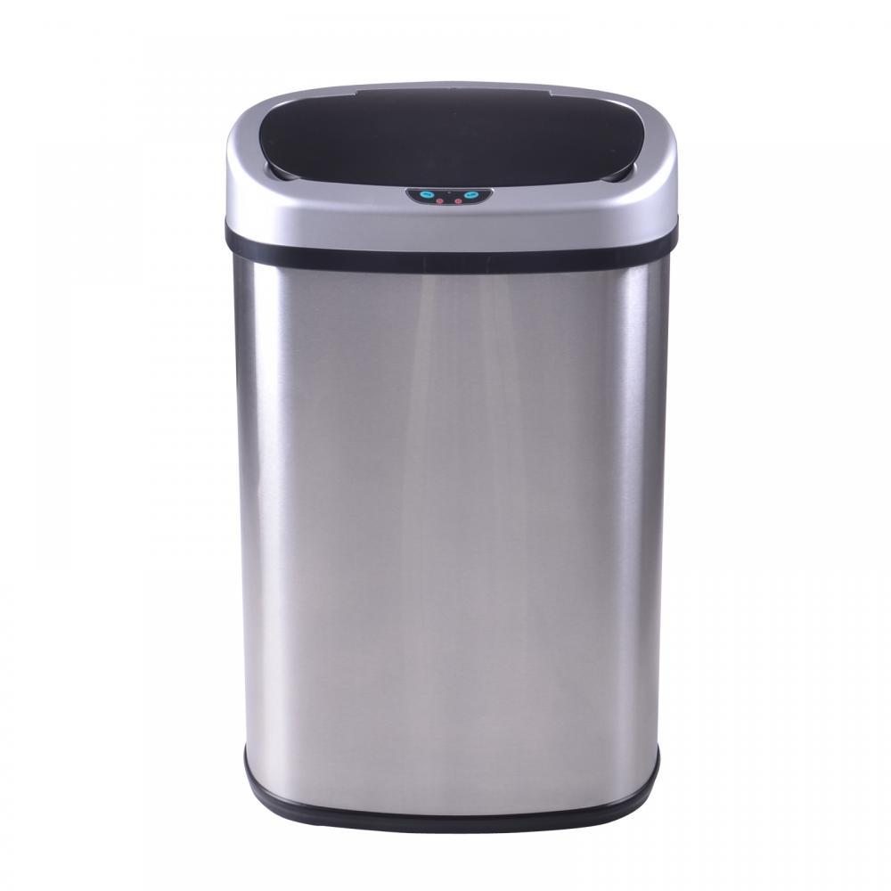 New 13-Gallon Touch Free Sensor Automatic Touchless Trash