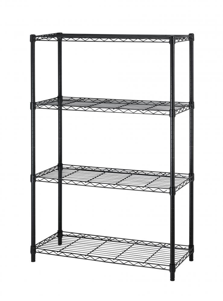 4 Tier Layer Shelf Adjustable Shelving Rack