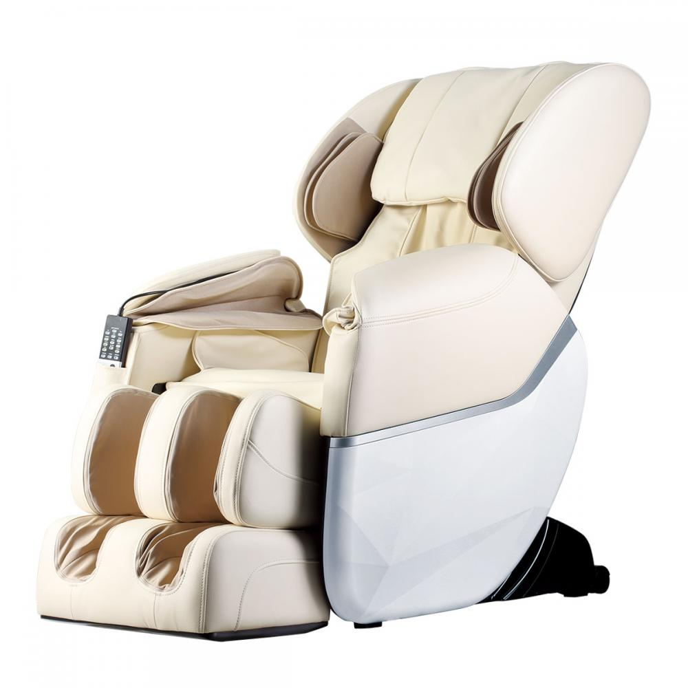 New electric full body shiatsu massage chair foot roller for Chair massage