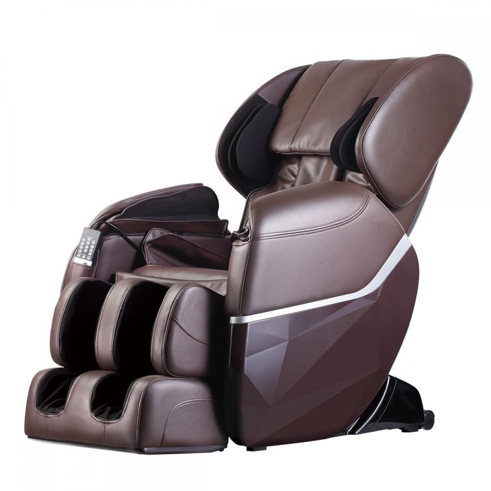 new electric full body shiatsu massage chair foot roller zero gravity w heat 77. Black Bedroom Furniture Sets. Home Design Ideas