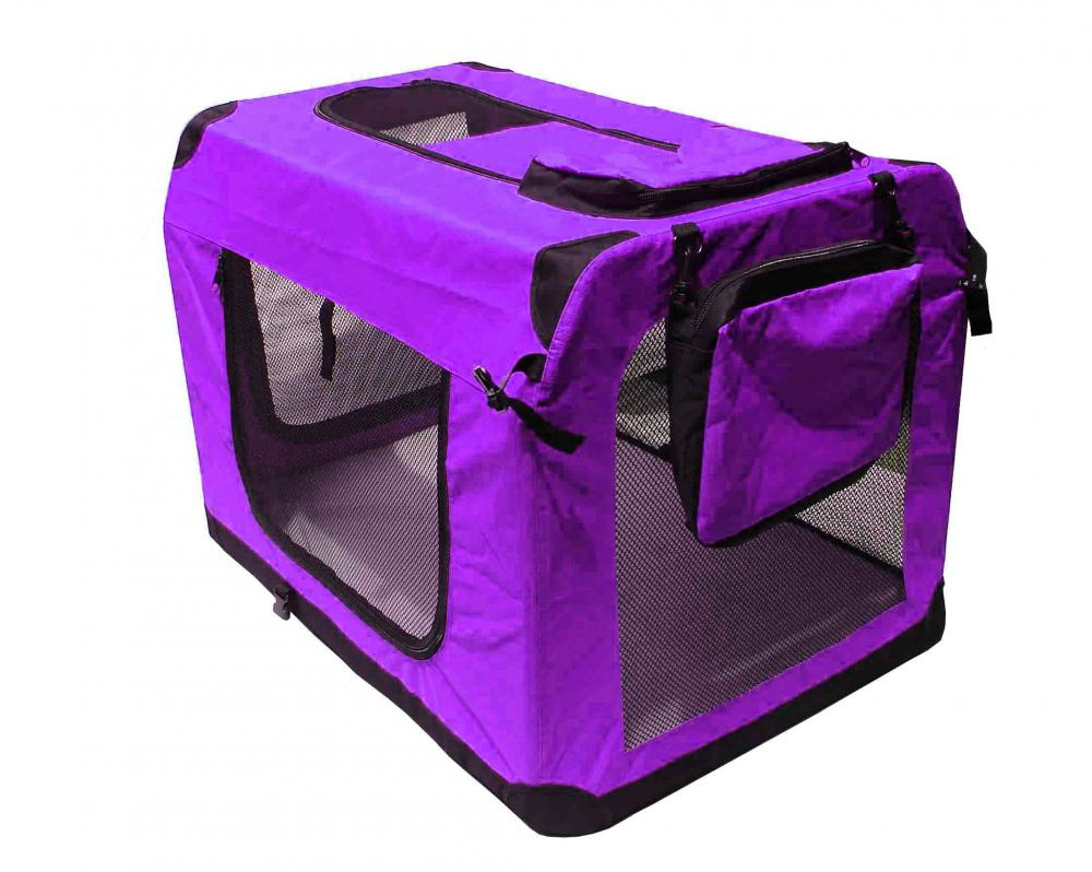 dog crate - pet dog carrier portable house soft sided cat comfort travel tote