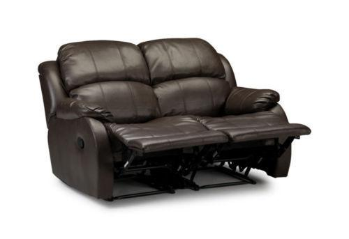 Sale New Luxury Valencia 3 2 1 Seater Leather Recliner