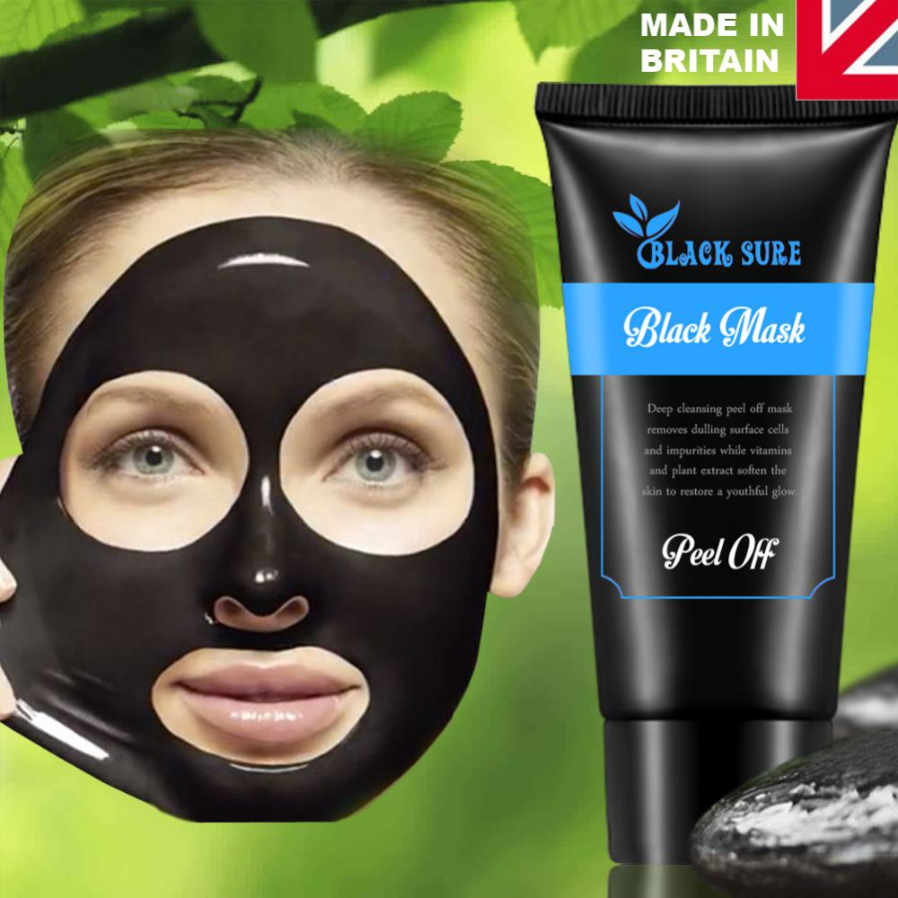 charcoal activated black face mask blackhead remover peel. Black Bedroom Furniture Sets. Home Design Ideas