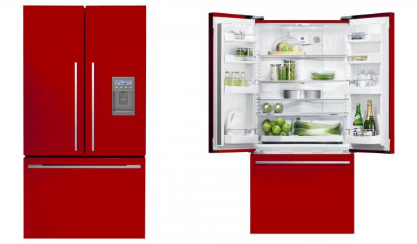 Range Red Cranberry Fisher Paykel Fridge Freezer Exclusive