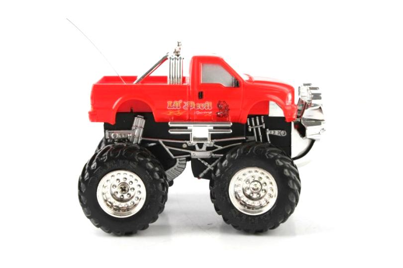 1:43 Remote Control RC Mini Monster Trucks With Lights