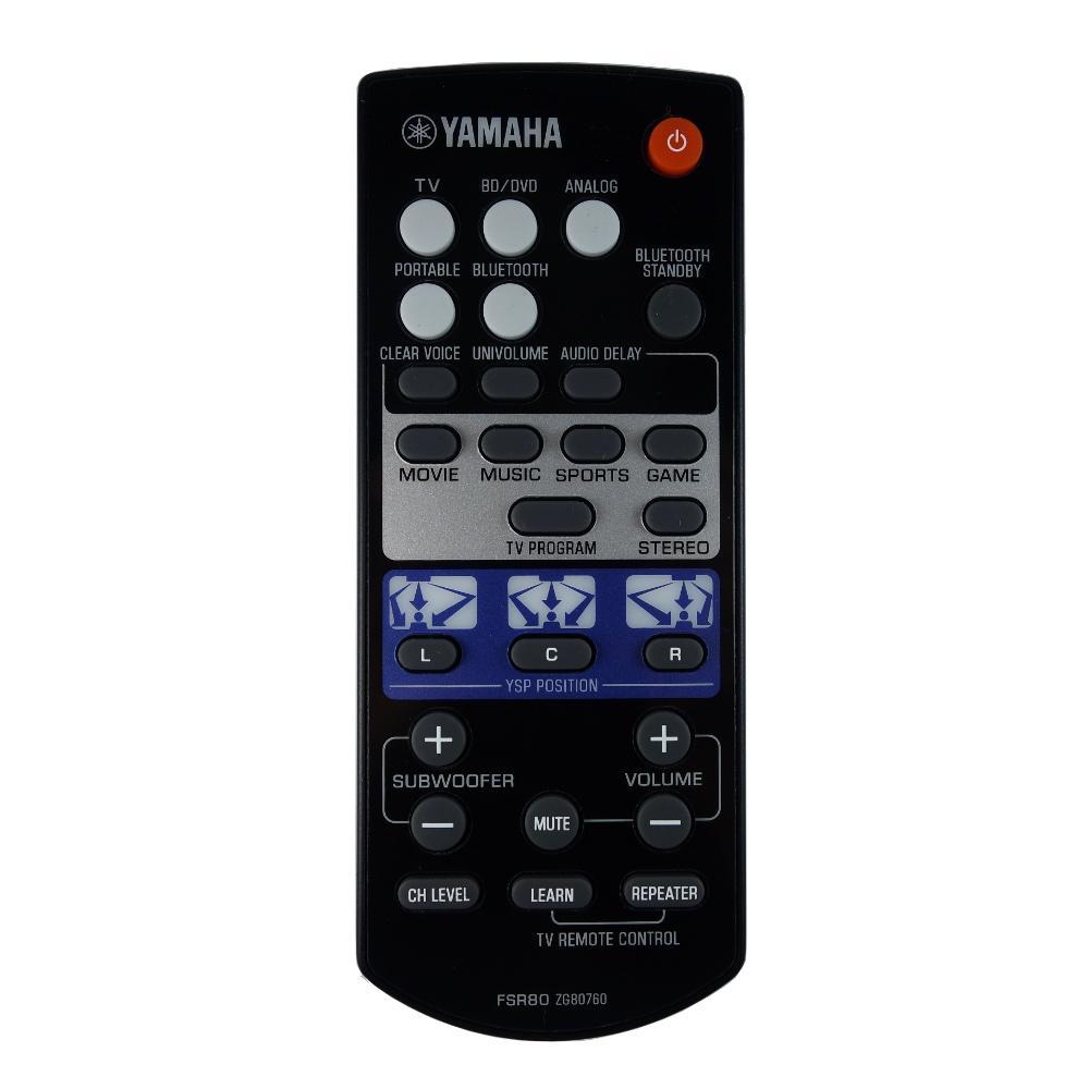 New genuine yamaha ysp 1400 ysp 1400bl soundbar remote for Yamaha ysp 1400 app