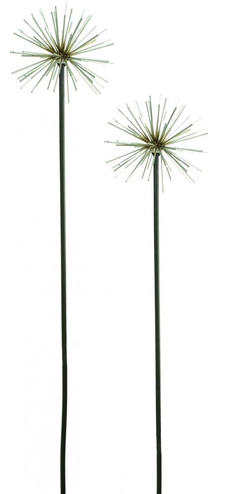 E2e metal dandelion flower garden ornament decoration for Flower garden ornaments