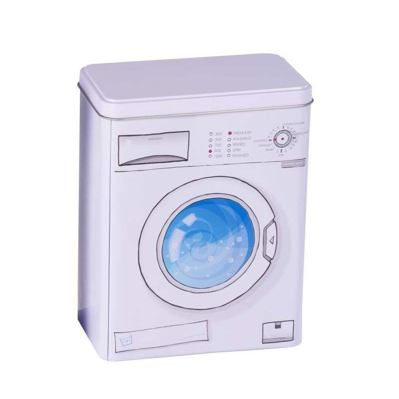Metal Laundry Dishwasher Washing Powder Tablet Detergent Storage