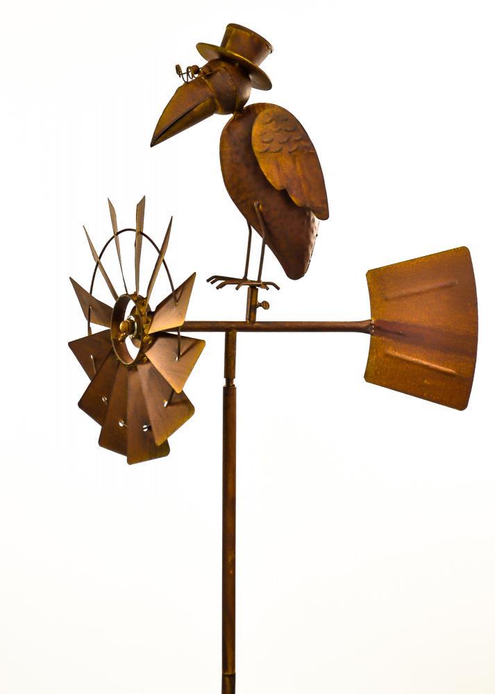 Mix & Match Metal Windmill Bird & Rocking Wire Bird w/ Top ...