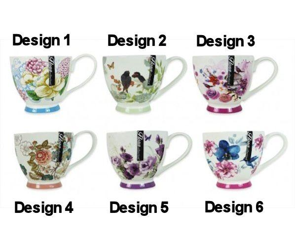new bone china porcelain 450ml tea coffee serving cup ebay. Black Bedroom Furniture Sets. Home Design Ideas