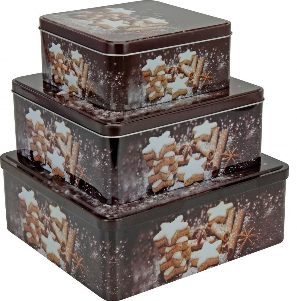 Christmas Design Square Kitchen Cake Cupcake Biscuit