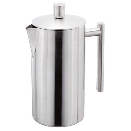 stellar double wall matt stainless steel cafetiere french coffee maker press ebay. Black Bedroom Furniture Sets. Home Design Ideas