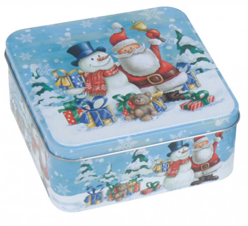 Square Christmas Snowman Kitchen Cake Cupcake Biscuit ...
