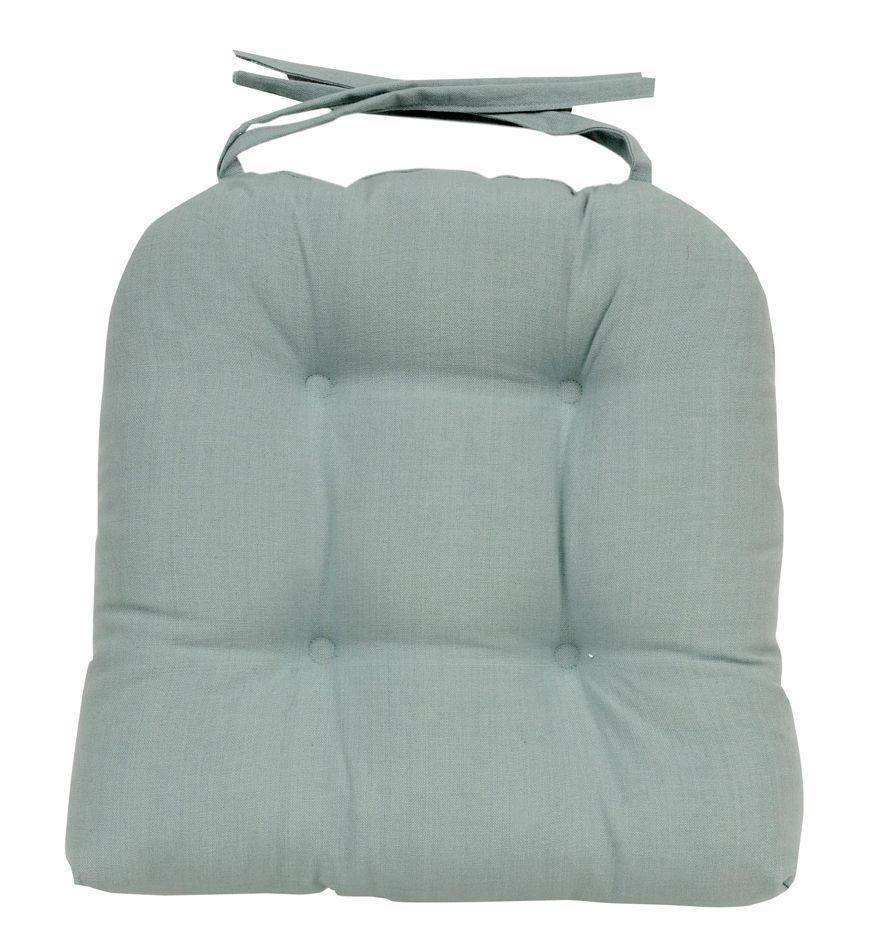 sale teal blue soft seat pad cushion kitchen garden dining chair in 3