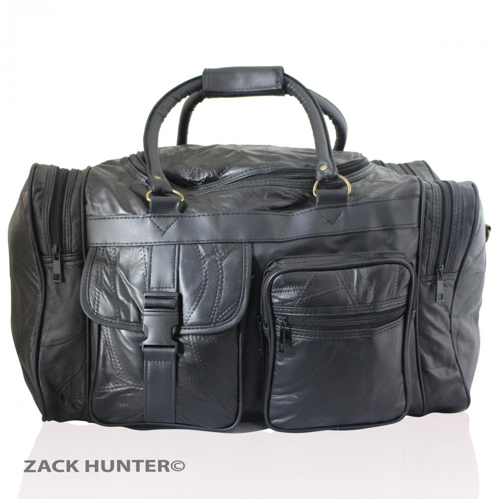 Simple Menu0026#39;s Women Leather Travel Bag Weekender Overnight Duffle Gym Bag Carry On Case | EBay
