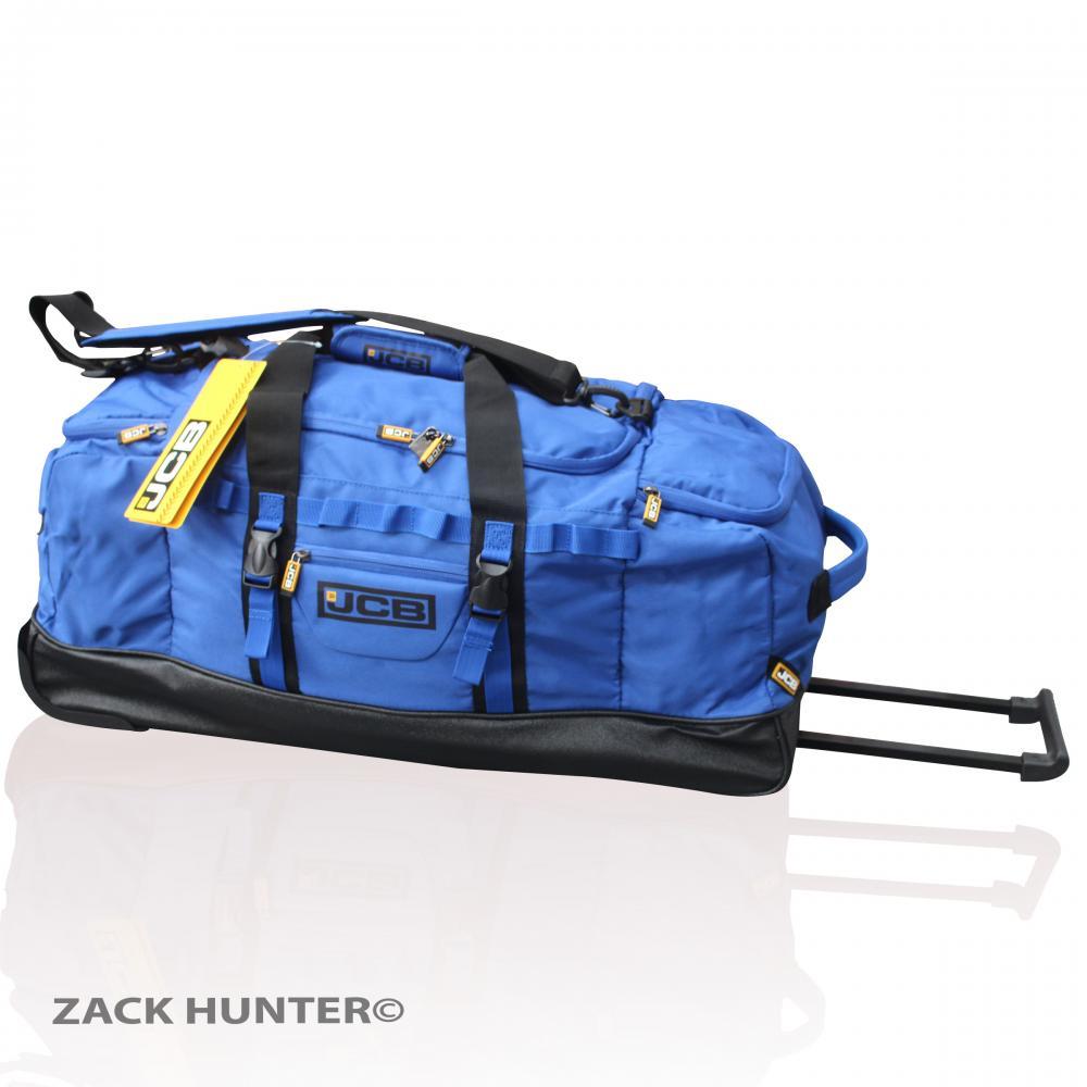 New Jcb Extra Large Holdall Wheeled Travel Bag Luggage Bag Duffle Bag Jcb005 Ebay