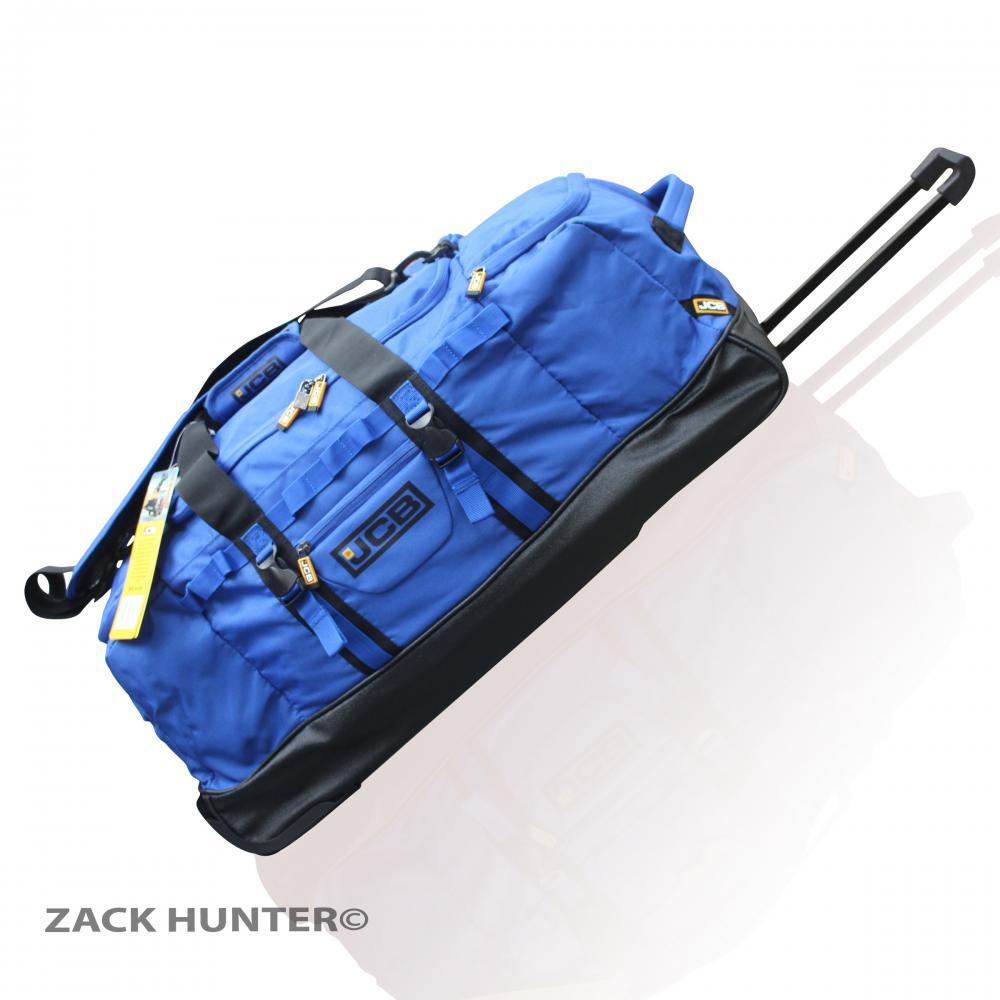 new jcb extra large holdall wheeled travel bag luggage bag duffle bag jcb005 ebay. Black Bedroom Furniture Sets. Home Design Ideas