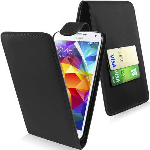 NEW FLIP LEATHER SERIES CASE COVER SAMSUNG GALAXY S5 MINI & SCREEN PROTECTOR