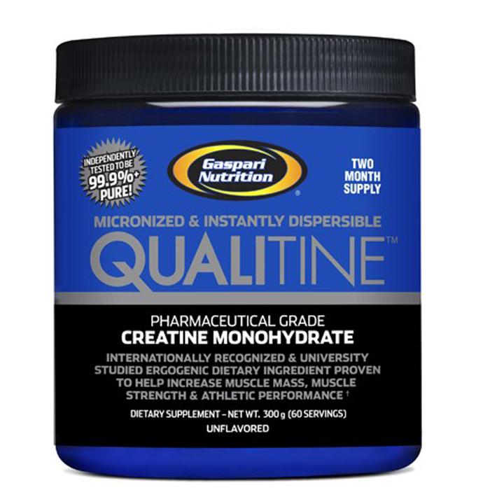 GASPARI QUALITINE CREATINE MONOHYDRATE POWDER - MUSCLE GROWTH - 300G eBay