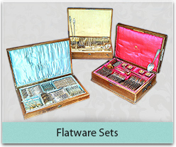 Complete flatware sets
